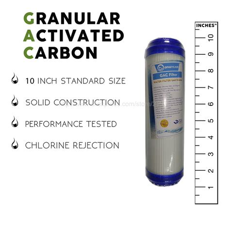 Paket Filter Air 3 Tahap Sediment Gac Cto Eugen Clear 1 2 Lengkap charcoal water filter buy 5 micron pp cotton activated carbon filter cto compressed carbon