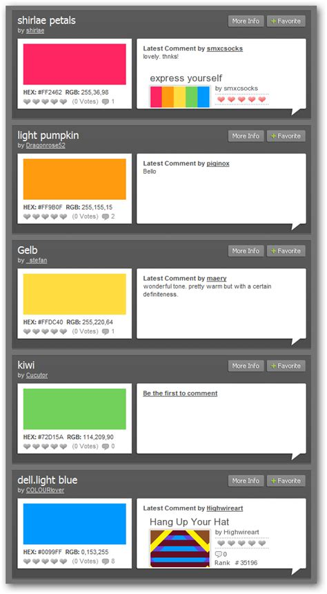 color combination finder find color schemes easily in firefox or your favorite browser