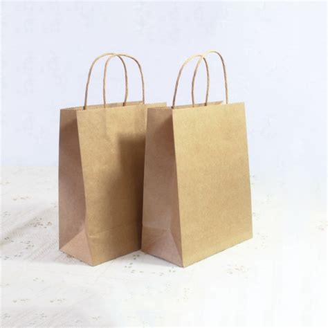 How To Make Paper Loot Bags - recyclable luxury kraft paper bags with handles loot