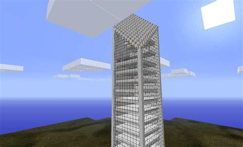 Modern Home Blueprints by Un Finished Skyscraper City Minecraft Project