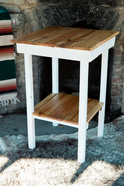 reclaimed wood kitchen island pallets pinterest tall pallet wood island table 75 00 first home