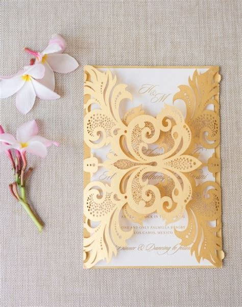 Wedding Invitations Gold And White by 649 Best Gold Weddings Images On Boho Wedding