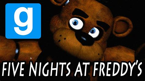 Free Five Nights At Freddy S Garry S Mod Game | five nights at freddy s garry s mod youtube