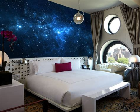 decorate a galaxy bedroom