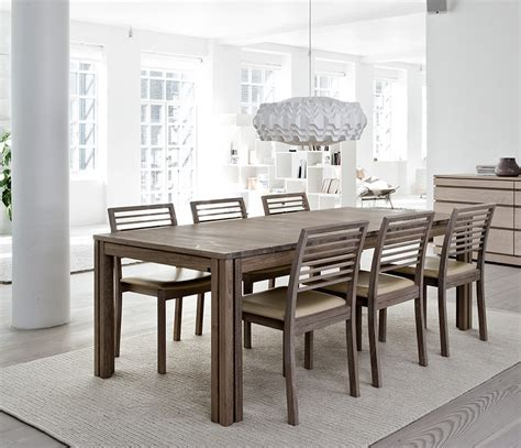 wharfside long dining table ai24 danish wood dining