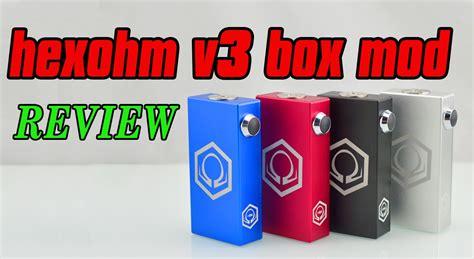 Hexohm Box Mod Authentic hexohm v3 max 180w box mod review by eycotech