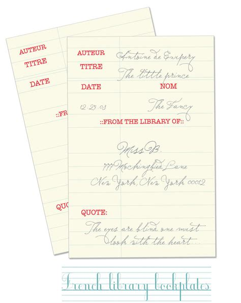 free printable bookplates templates freebie friday free printable bookplates