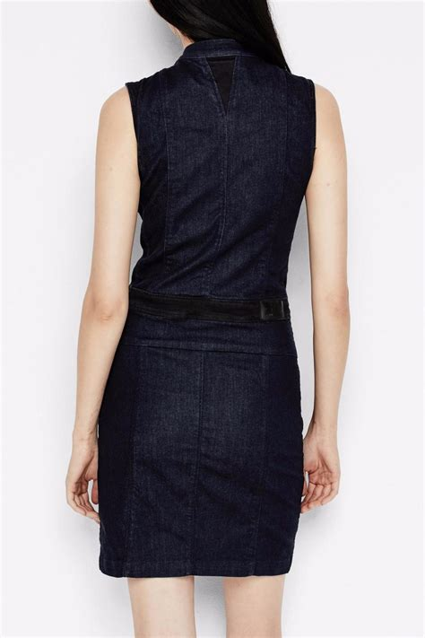 Fitted Mini Dress With Cut On Breastry7270 Import g fitted denim dress from canada by fusion