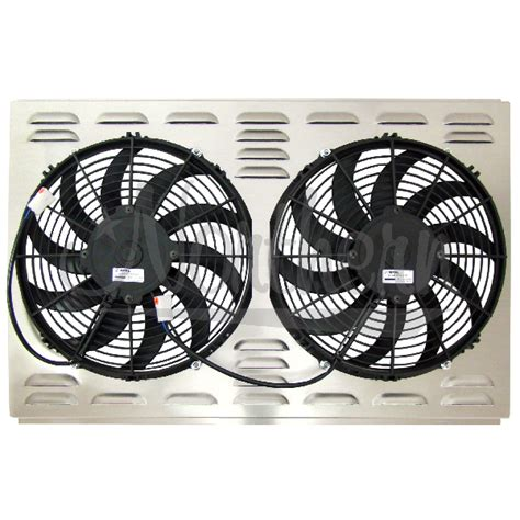 electric radiator fans and shrouds northern factory dual 12 quot electric fan shroud 17 5 8