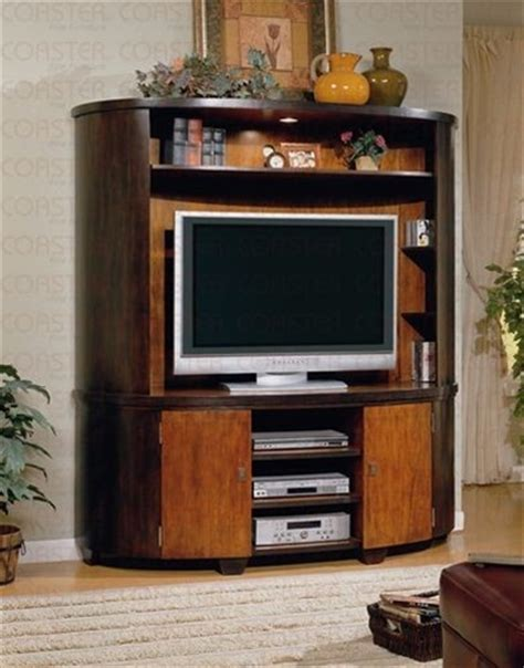 retro entertainment center two toned finish retro style entertainment center wall