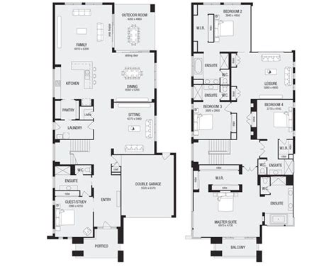 house floor plans qld lindrum 58 new home floor plans interactive house plans