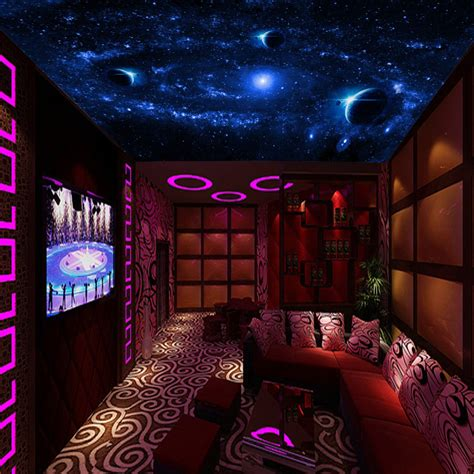 bedroom ceiling stars free shipping 3d universe wallpaper bedroom ceiling star