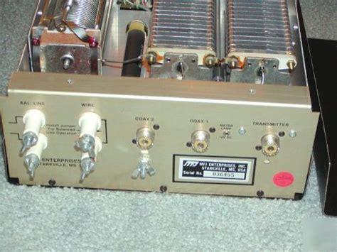 mfj inductor switch mfj 989c 3 kw ceramic roller inductor hf antenna tuner
