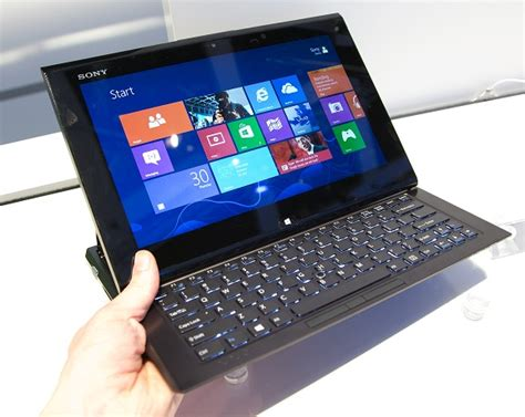 sony vaio duo 11 windows 8 tablet announced