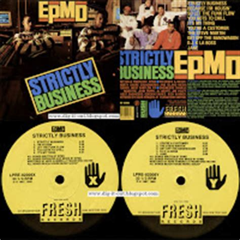 Epmd Strictly Business Vinyl - dig it out