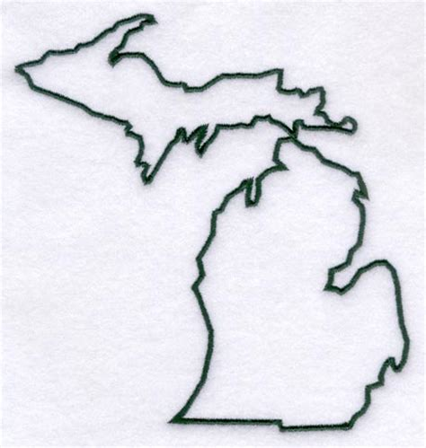 state of michigan tattoo designs michigan outline fix up and do one of those