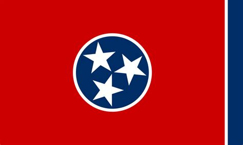 file flag of tennessee svg wikimedia commons