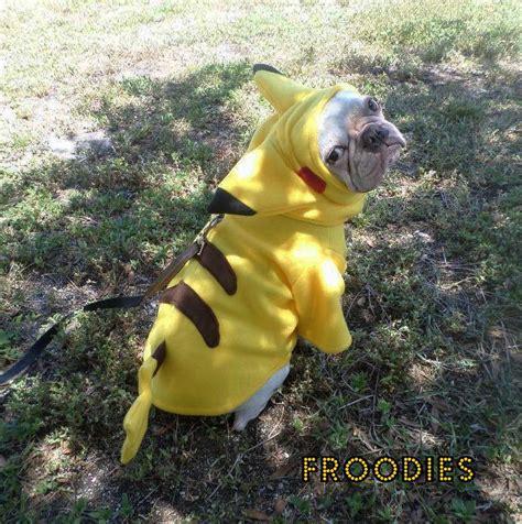 pug pikachu bulldog boston terrier pug froodies hoodies costume