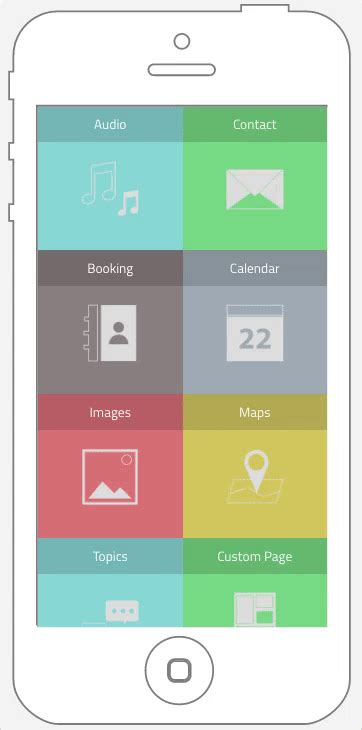 app layout grid grid layout menu your application builder build