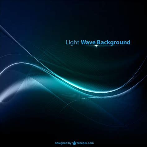 waves lights blue light wave background vector free