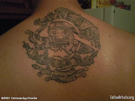 mexican aztec tattoos mexican eagle aztec calendar artists org