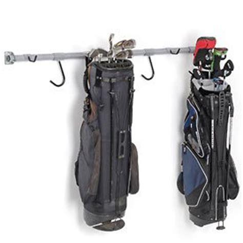 Golf Bag Garage Organizer by Monkey Bars Golf Rack In Gray Wall Racks