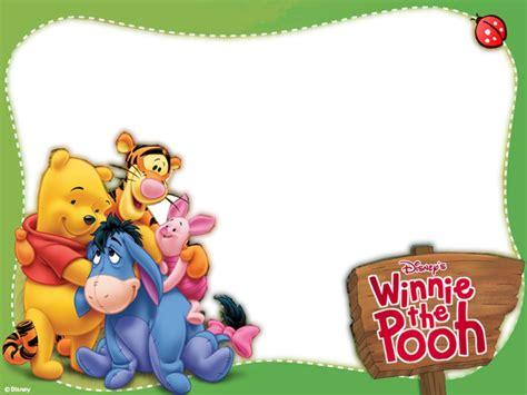 imagenes de winnie pooh en la escuela marcos para caratulas infantiles imagui