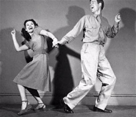 swing dance movie radio music and wartime dance halls popular culture