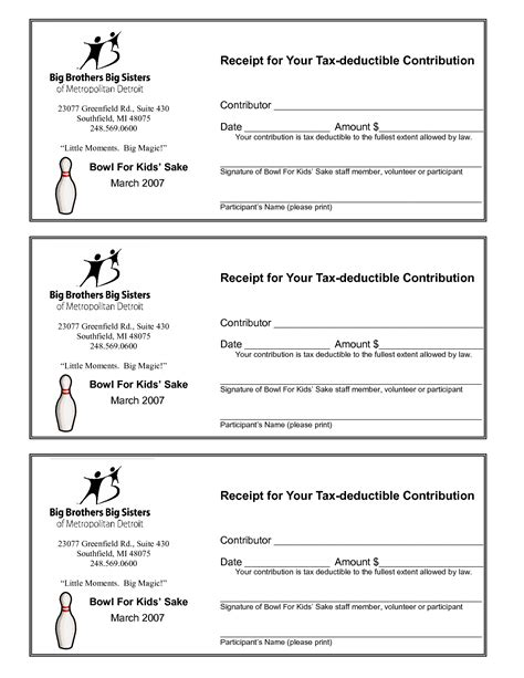 church receipt template receipt template church donation letter donation receipt