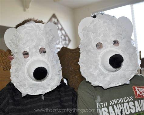 polar crafts for polar masks i crafty things