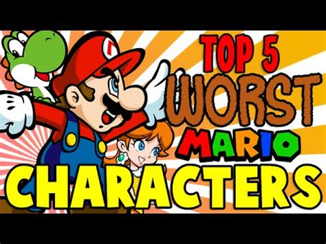5 Of The Biggest Super Mario Controversies Youtube - top 5 worst mario characters the lonely goomba youtube