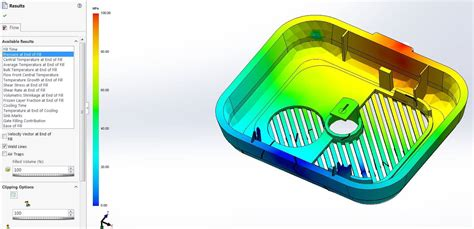 tutorial solidworks plastics how to detect weld lines in your plastic parts