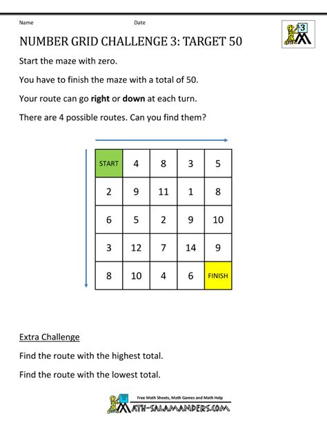 Number Pattern Challenge Worksheet | maths puzzles worksheets and puzzles on pinterest