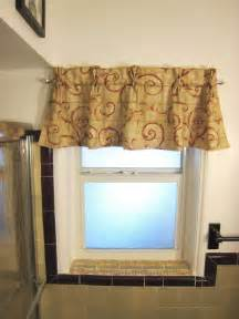 Bathroom Valances Ideas by The Reformatory Bathroom Window Valance