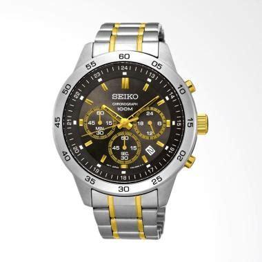 Jam Tangan Seiko Sndy03p1 Chronograph Silver Blue jual jam tangan seiko original terbaru harga murah