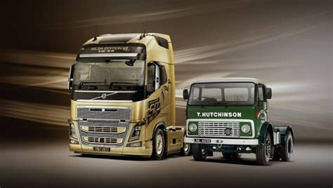 Volvo 50 Gift Card - volvo trucks celebrate 50 years in the uk with the launch of the ailsa truck