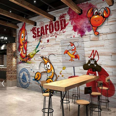 custom  wallpaper wooden wall hand painted spicy