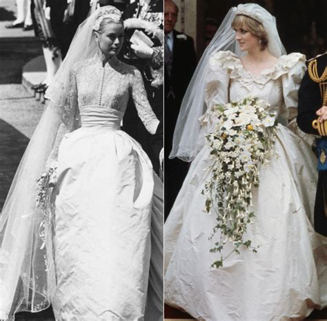 The ten most iconic celebrity wedding dresses of all time