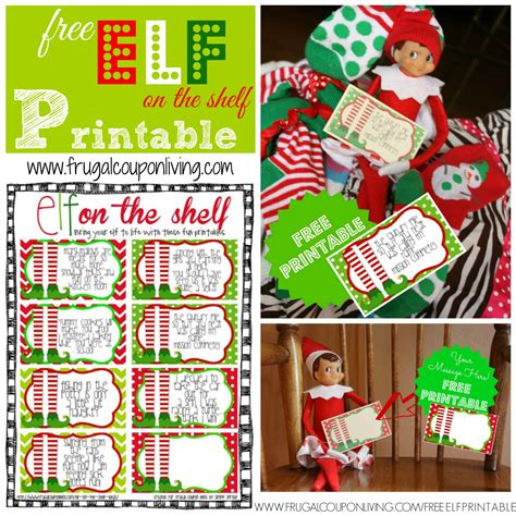 printable elf on a shelf pictures free elf on the shelf printable notes