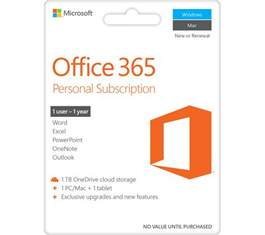microsoft office 365 personal deals pc world