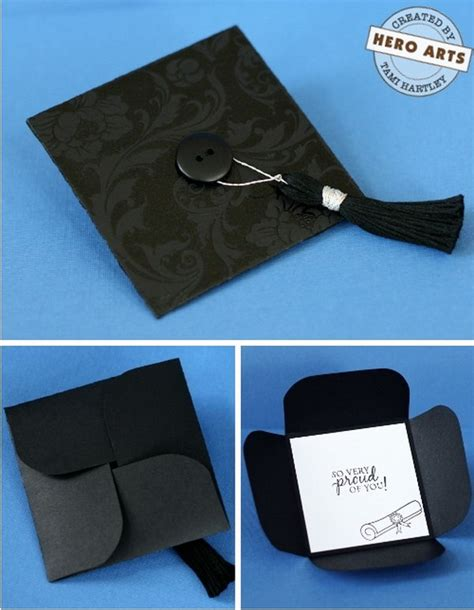 graduation cap card box template 25 diy graduation card ideas hative