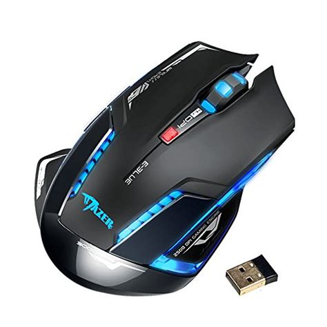 Mouse Gaming Mazer creative gaming mouse blue mazer 2500 dpi usb 2 4ghz wireless laser gamer