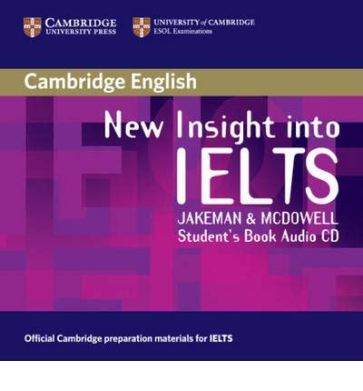 New Insight Into Ielts Workbook With Answers Original new insight into ielts student s book audio cd jakeman 9780521680929