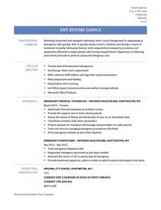 emt resume examples emt resume emt resume samples and templates paramedic resume sample free resume template