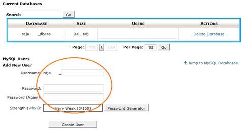 cara membuat web database mysql cara membuat database mysql di cpanel hosting smart blog