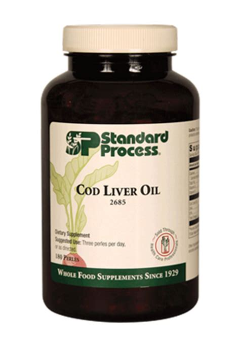 Cod Liver Detox by Standard Process Cod Liver 2685