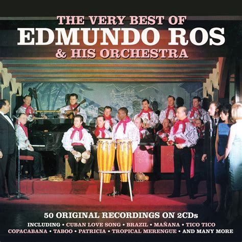 edmundo ross edmundo ros his orchestra the very best of not now music