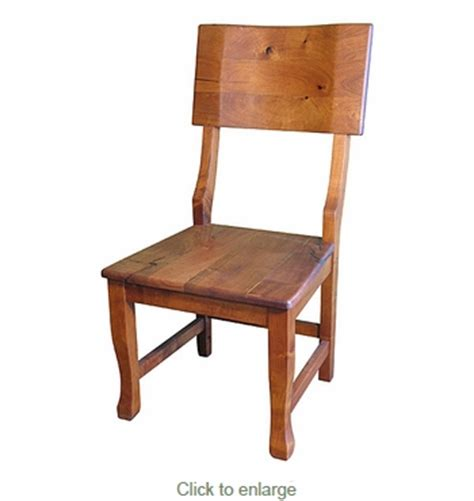 Mesquite Contoured Back Dining Chair Mesquite Dining Chairs