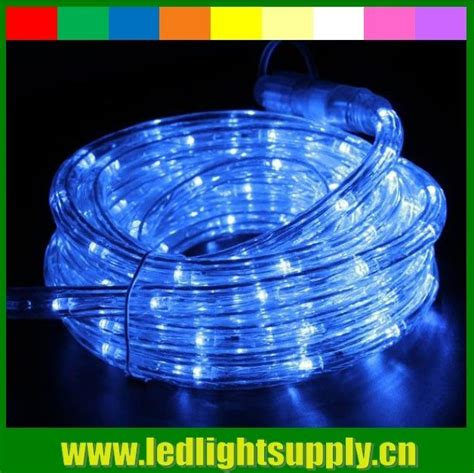 12v 24v led rope light multi color 1 2 2 wire duralight led