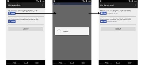 android like how to add a like button to your android app using sdk for android v4